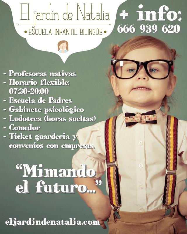 Escuela Infantil bilingüe en Murcia
